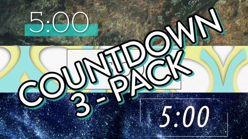 Countdown Video 3-Pack