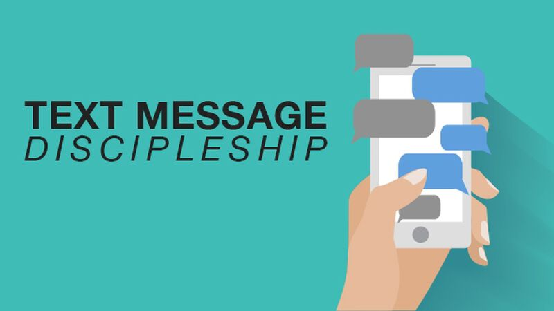 Text Message Discipleship: 30 for 30