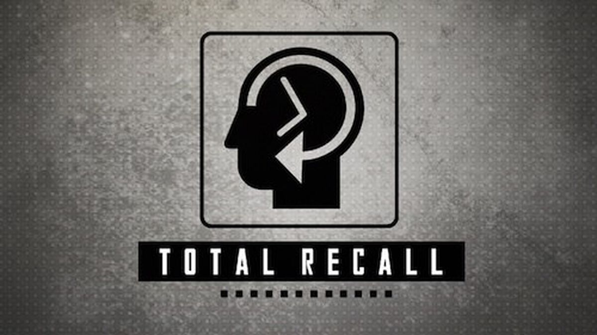 Total Recall image number null