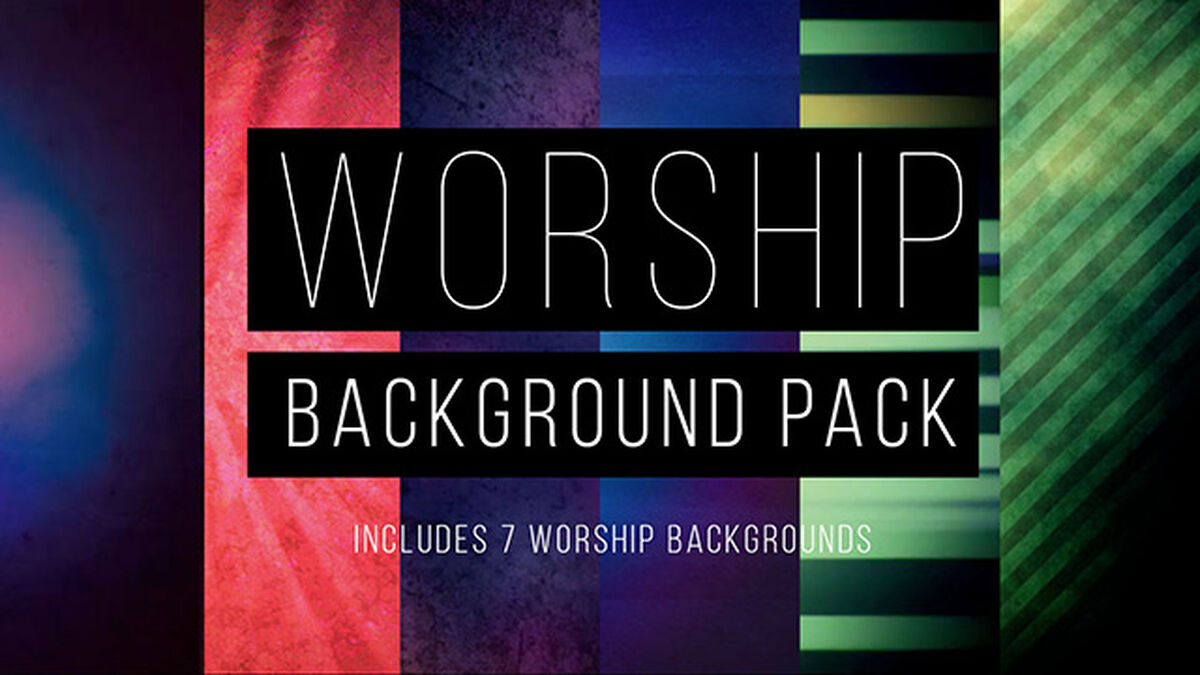 Worship Backgrounds 5-Pack image number null