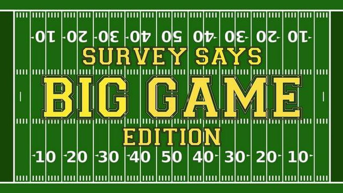 Survey Says Big Game Edition image number null