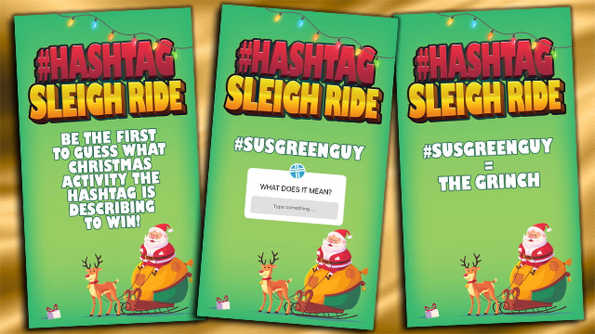 Hashtag Sleigh Ride image number null
