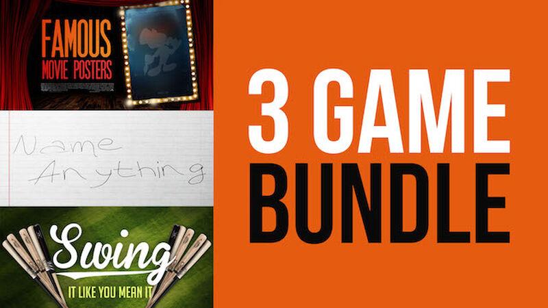 3-Game Bundle Pack!