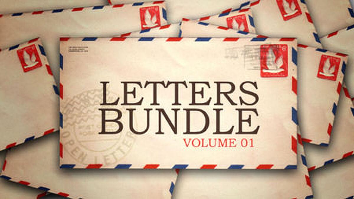 Letters Bundle - Volume 1 image number null