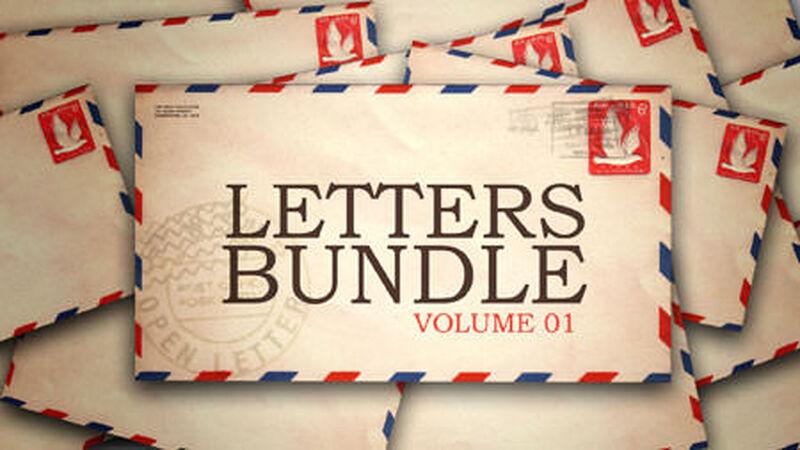 Letters Bundle - Volume 1