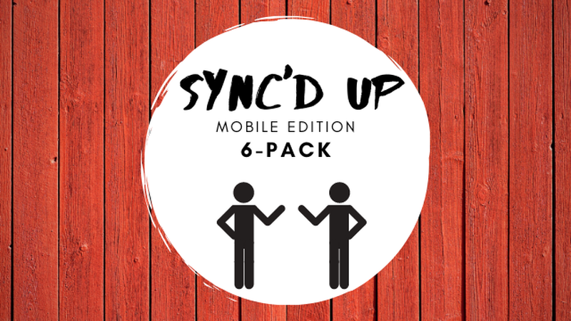 Sync'd Up Mobile 6-Pack