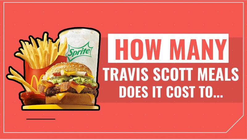 How Many Travis Scott Meals?