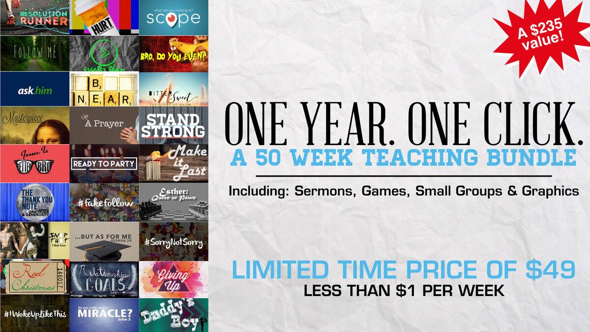1 Year 1 Click 50-Week Teaching Bundle image number null