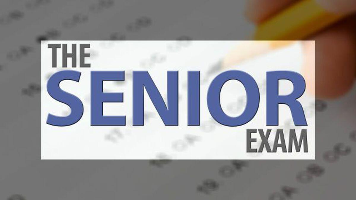 The Senior Exam image number null