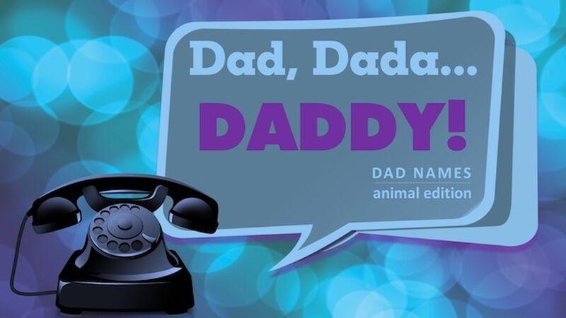 Dad, Dada, Daddy Dad Names: Animal Edition