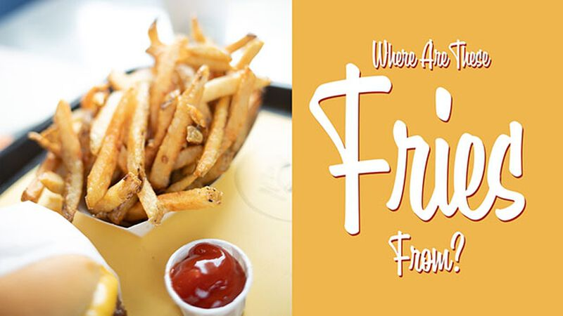 Where Are These Fries From? (July 13th, National French Fry Day)