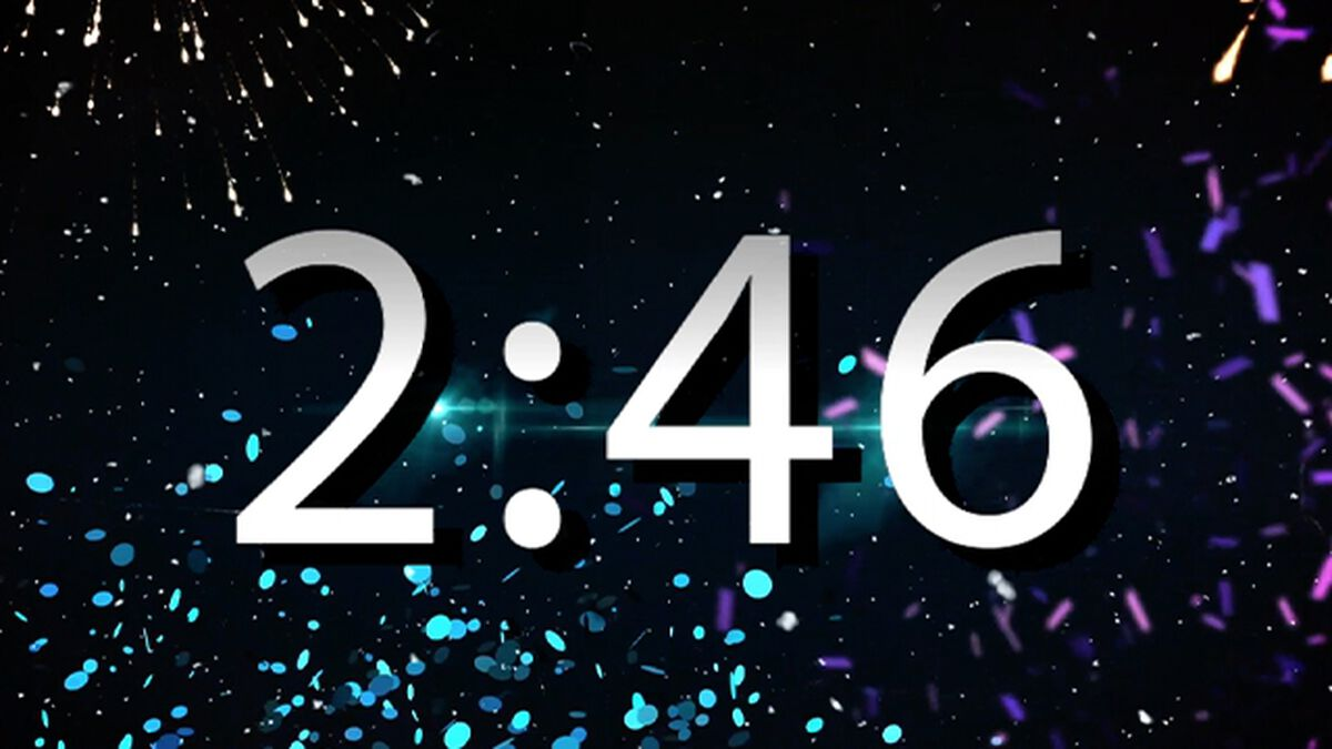 New Years Motion Animation image number null