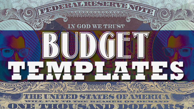 Youth Ministry Budget Templates