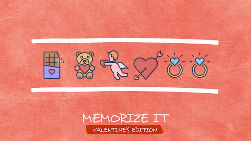 Memorize It: Valentine's Edition