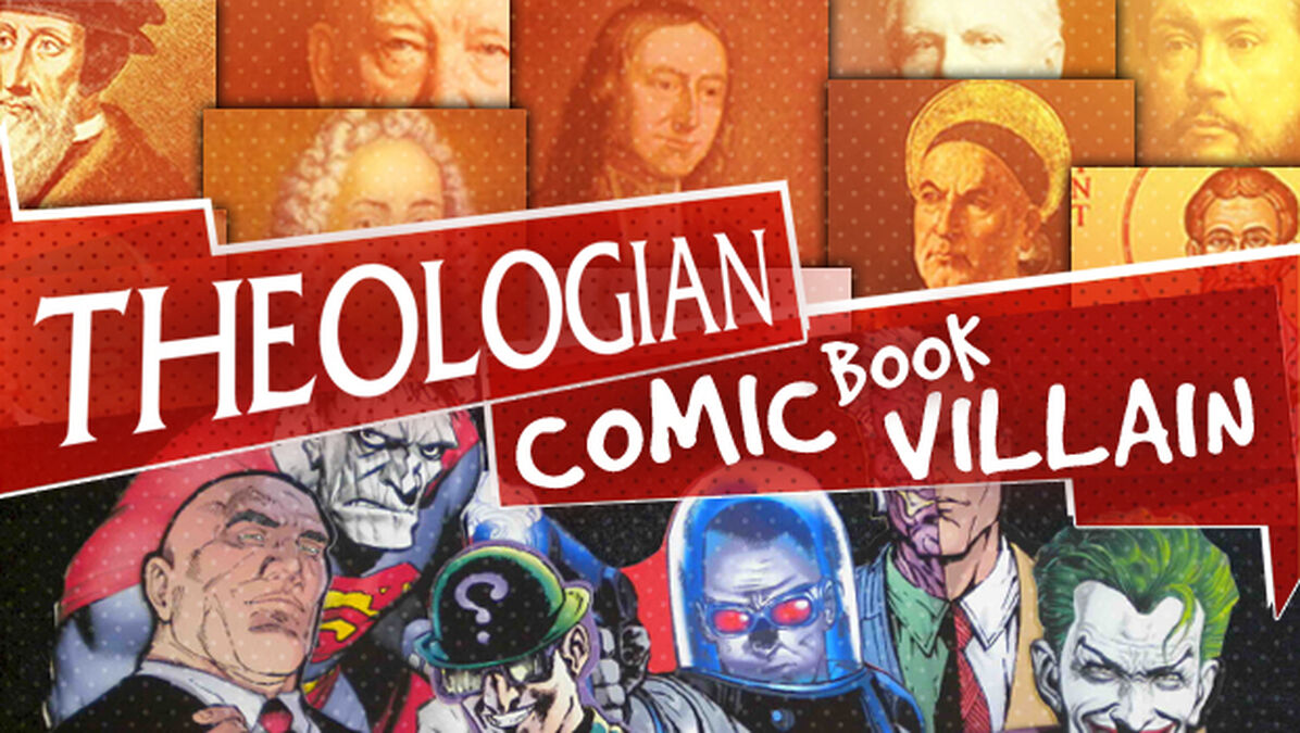 Theologian or Comic Book Villain image number null