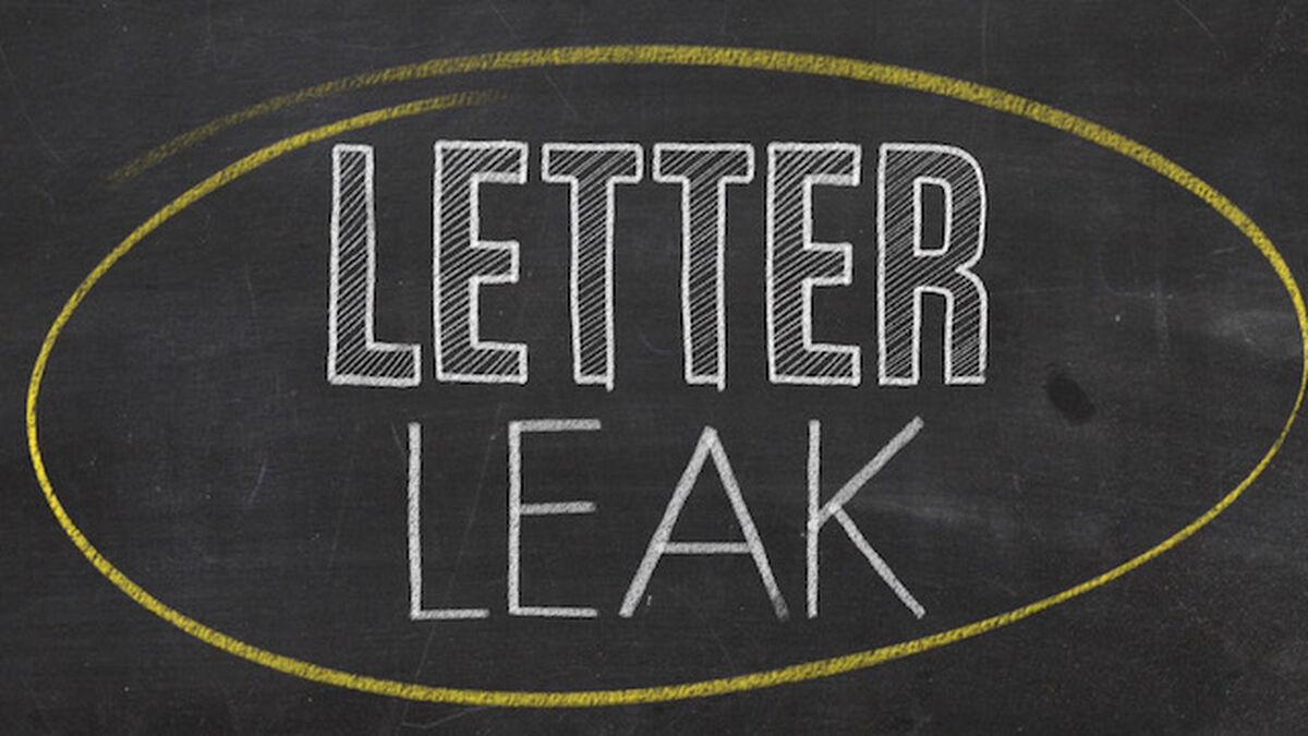 Letter Leak image number null