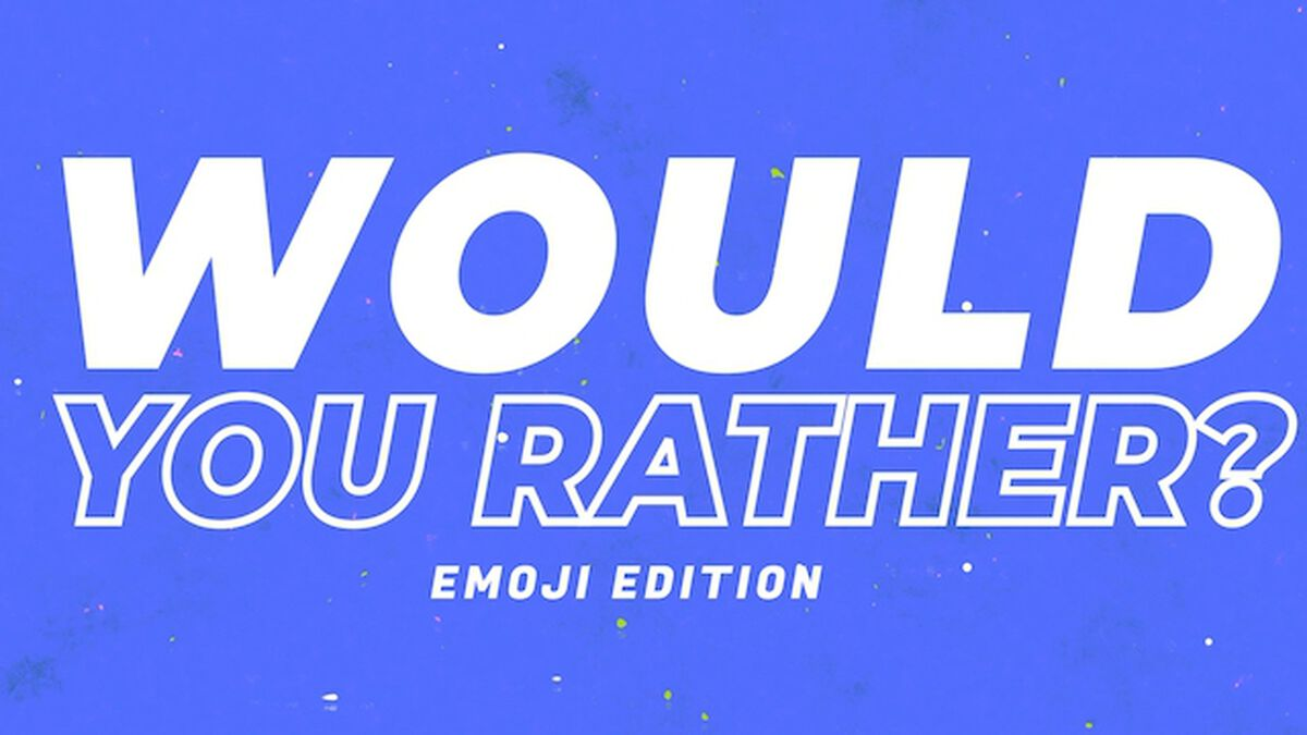Would You Rather Video Emoji Edition: Volume 2 image number null
