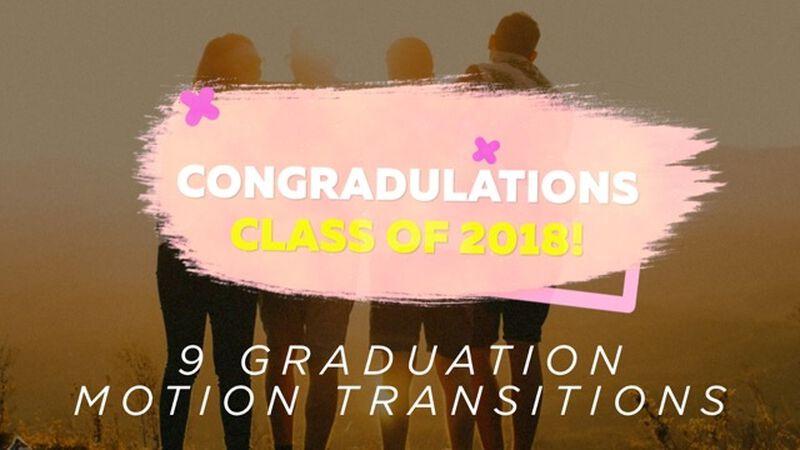 Graduation Motion Transitions