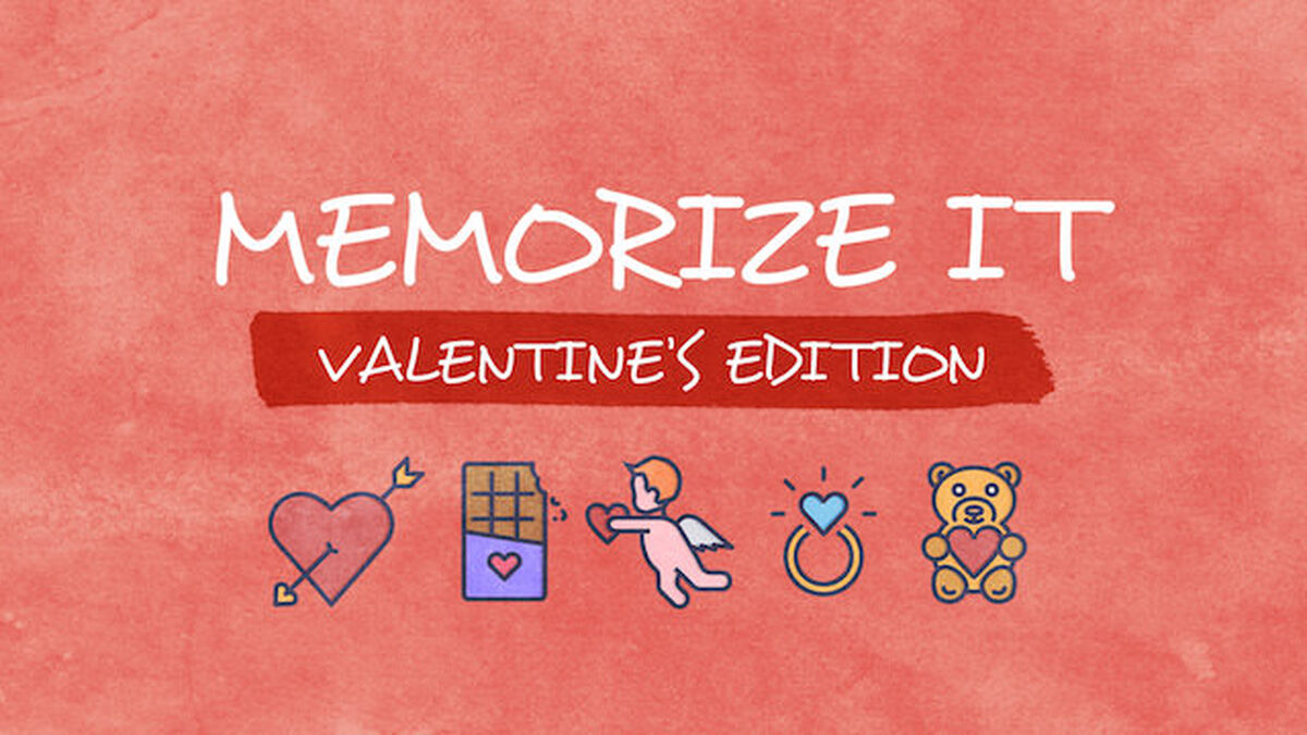 Memorize It: Valentine's Edition image number null