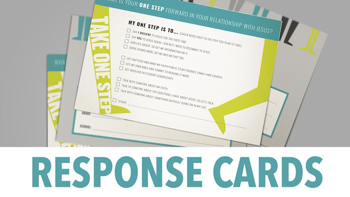 Response Cards image number null