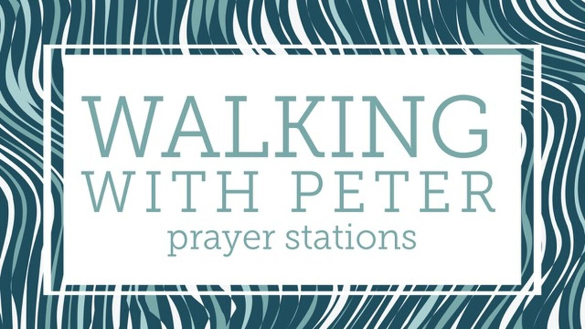 Walking with Peter: Prayer Station Guide image number null