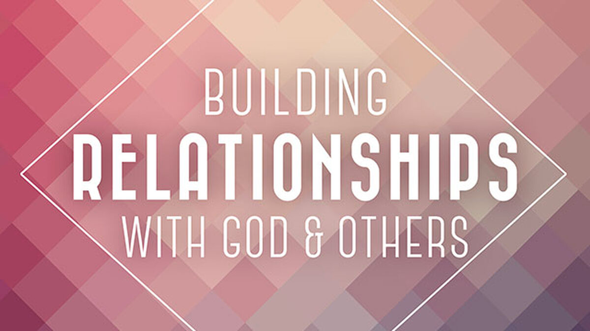 Building Relationships with God and Others (reproducible growth booklets) image number null