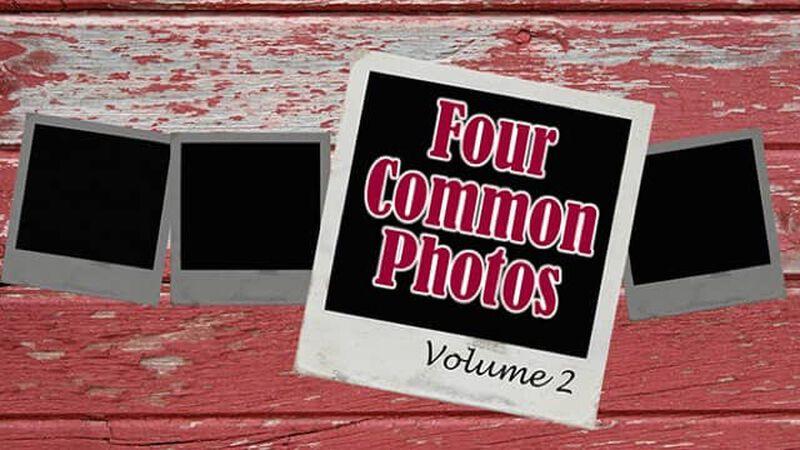 Four Common Photos: Volume 2