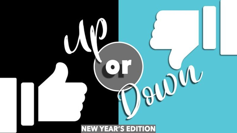 Up or Down: New Year Edition