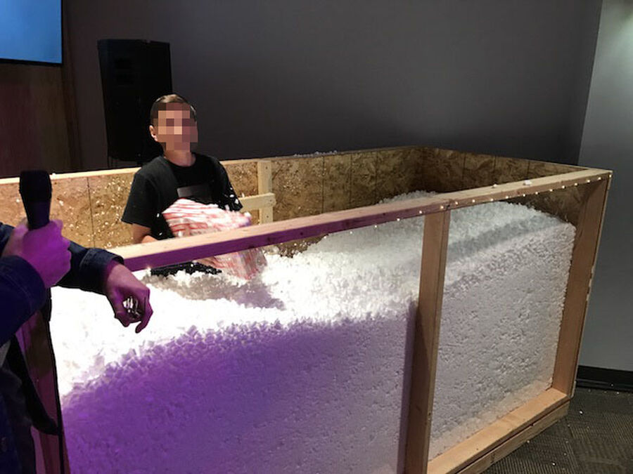 DIY: Packing Peanut Foam Pit Plans image number null