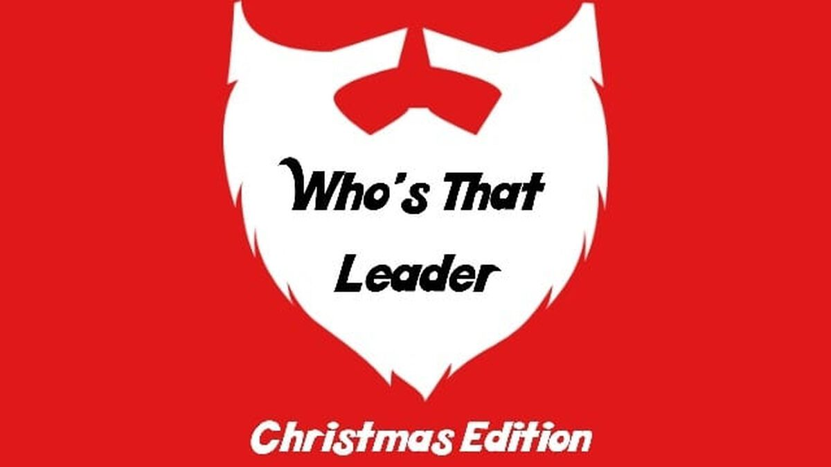 Who's That Leader Christmas Edition image number null