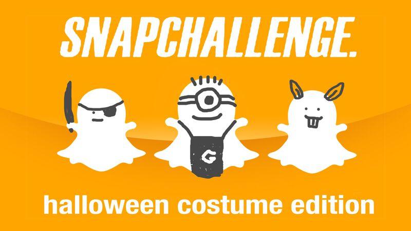 SnapChallenge Halloween Costume Edition