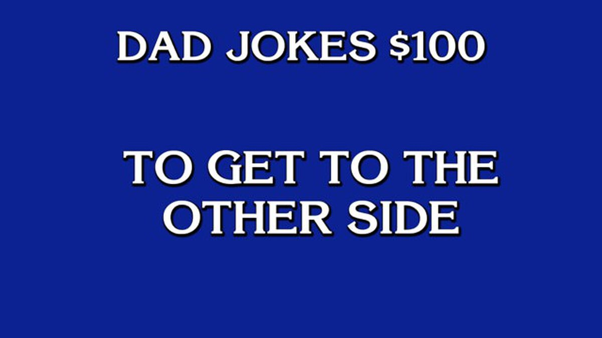 Dad Joke Jeopardy image number null