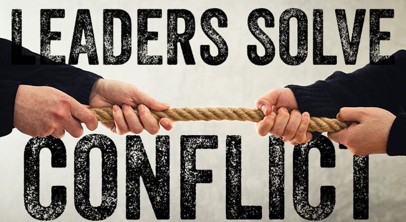 Leaders Solve Conflict