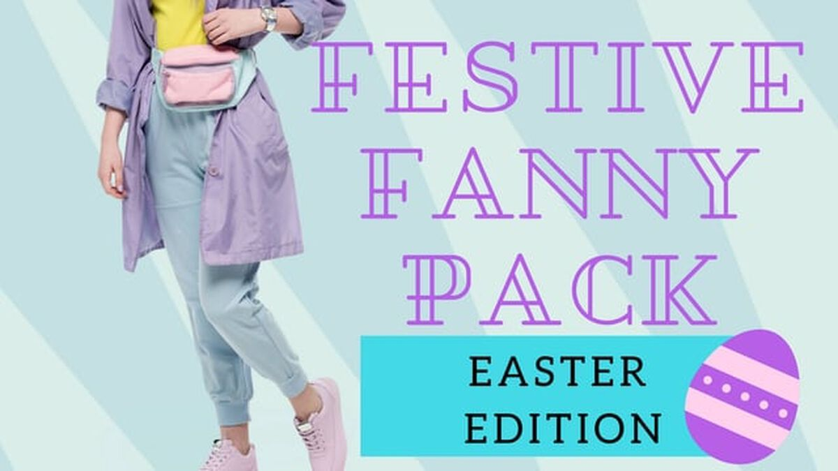 Festive Fanny Pack: Easter Edition image number null