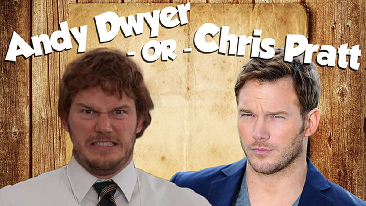 Andy Dwyer or Chris Pratt image number null