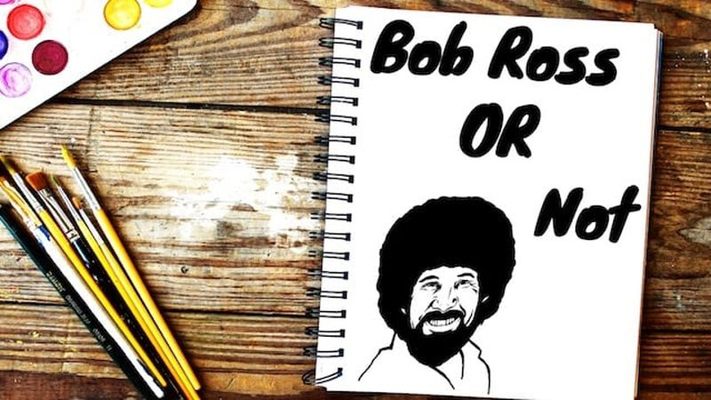 Bob Ross or Not Game