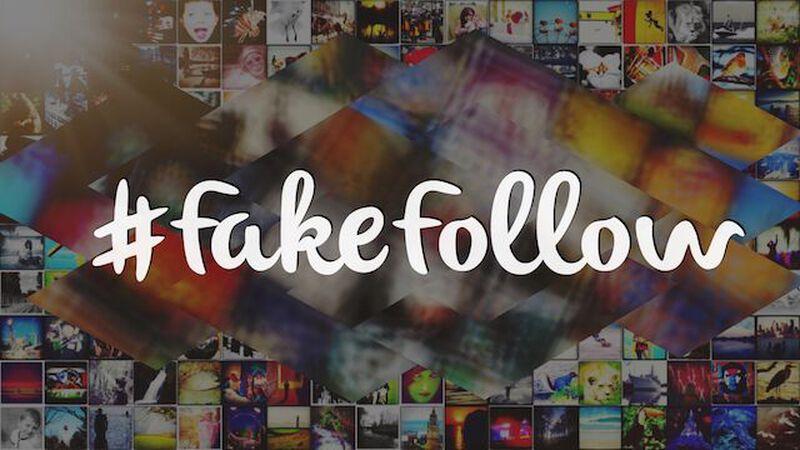 #FakeFollow