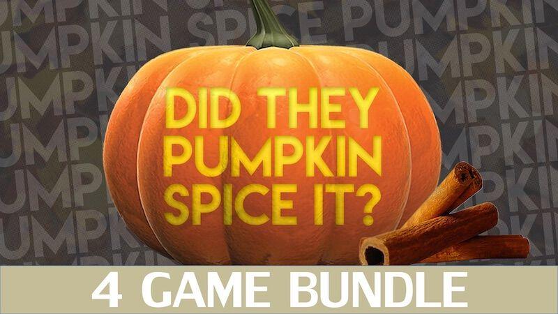 Did They Pumpkin Spice It? 4 Volume Bundle!