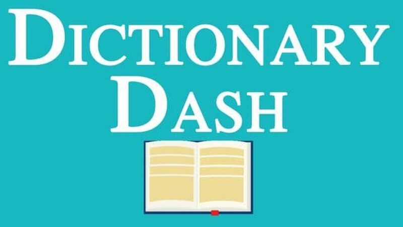 Dictionary Dash