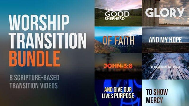 Worship Transition Video Bundle