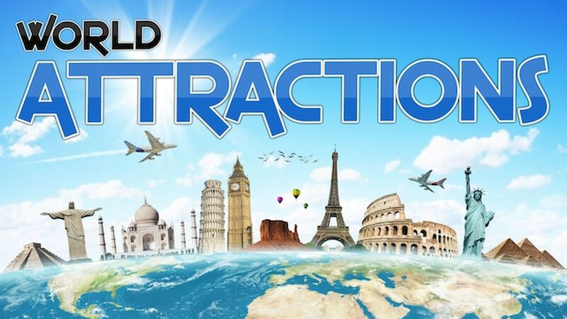 Pixelate World Attractions
