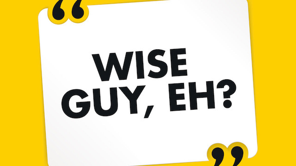 Wise Guy, eh? image number null