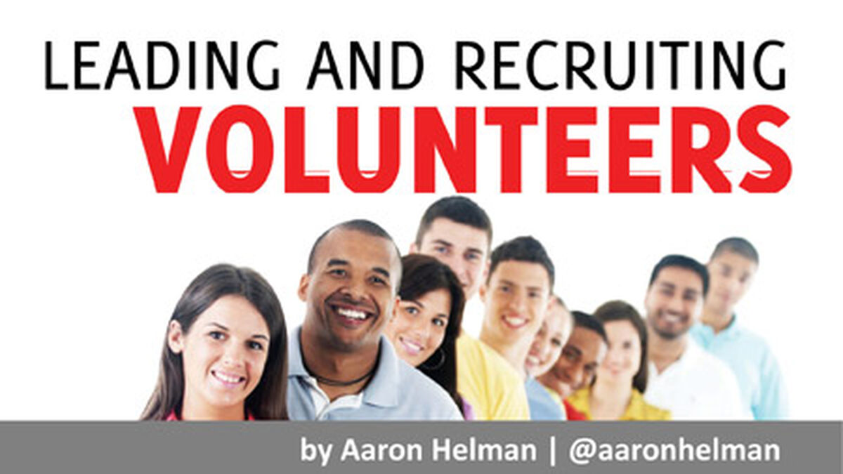 Leading and Recruiting Volunteers image number null