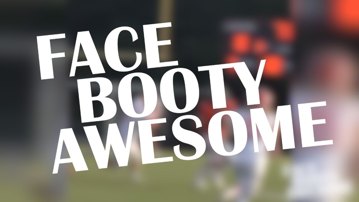 Face Booty Awesome: Football  image number null