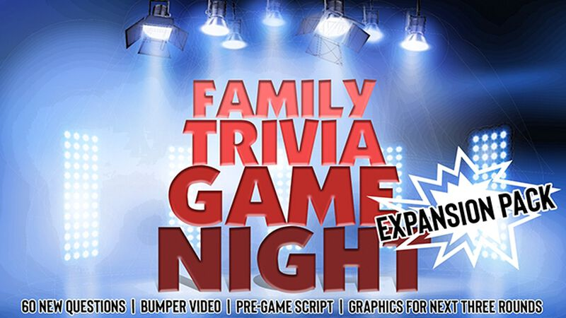Family Trivia Game Night - Expansion Pack / Volume Two