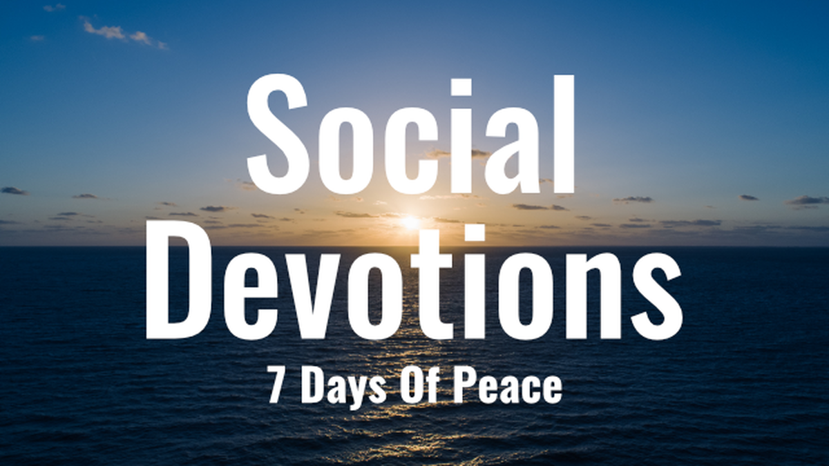 Social Devotions: 7 Days of Peace image number null