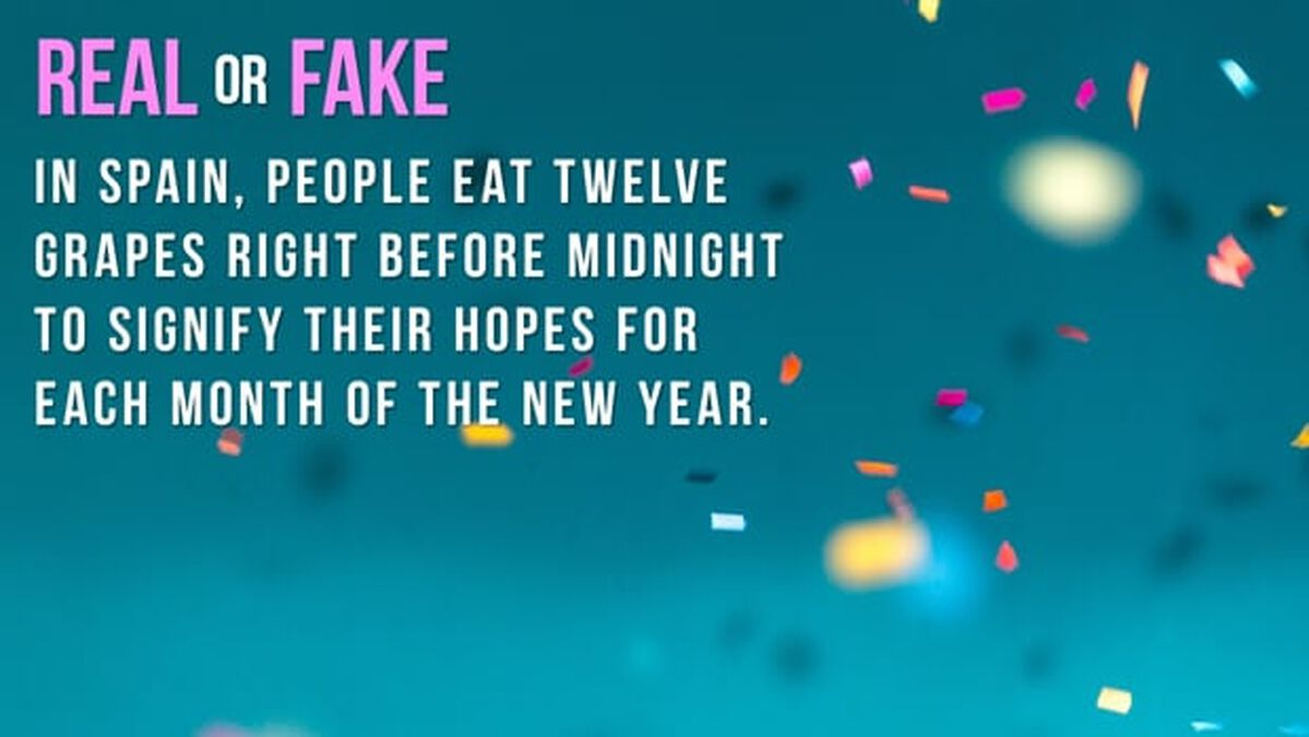 REAL OR FAKE: Happy New Year Edition image number null