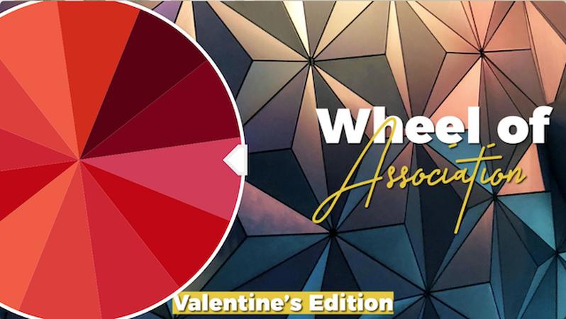 Wheel of Association: Valentine's Edition