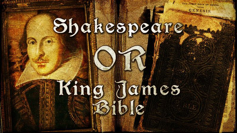 Shakespeare or King James Bible