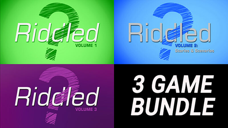 Riddled Bundle – Volumes 1, 2, and 3